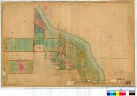 Toodyay (Newcastle) 12B. Plan of Toodyay Townsite showing Lots SW of Avon River in vicinity of No...