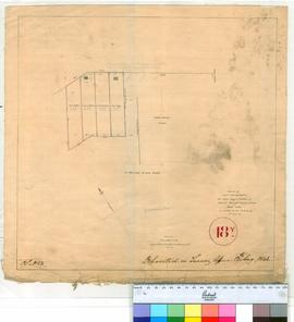 Perth 18Y. Plan of Four 1 acre allotments the same being a portion of Edward Barron's 26 acr...