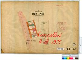 Red Lake Sheet 1 [Tally No. 505081].