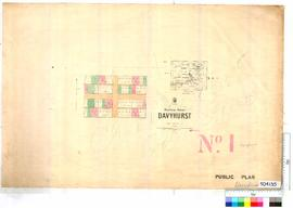 Davyhurst Sheet 1 [Tally No. 504135].