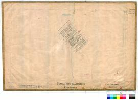 Kalgoorlie 77/16. Plan of town allotments - Kalgoorlie. New lots 283 to 394. E. P. Muntz, 3/08/1897.
