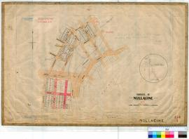 Nullagine 154/1. Plan of Nullagine Township showing Lots & Roads, Nullagine River & Nulla...