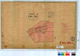 Emu Hill Sheet 1 [Tally No. 504221].