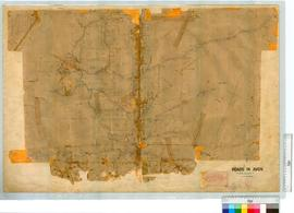 Avon Roads, vicinity of Newcastle by J. Forrest, Fieldbooks 2 & 3 [scale: 80 chains to an inch].