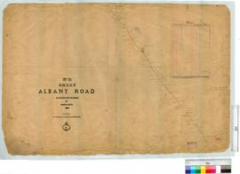 Albany Road, Sheet 2 by H. Loftie Fieldbook 1 [scale: 40 chains to an inch].
