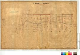 Stirling Estate (Subdivision of Location 41 see OP 225) by F.S. Brockman, W.A. Rae, & H.A. Lo...