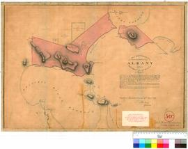 Albany 30N. Plan of Boundaries proposed for the Townsite of Albany in Western Australia, 7 March ...
