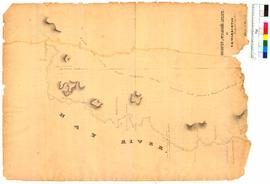 Survey of Wilson's Inlet Block 2 Sheet 1 (Hay River) by G.E. Warburton [Tally No. 005309].