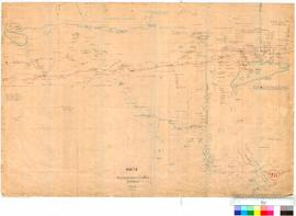 C.C. Hunt - country eastward of York - sheet II (Central sheet - see also nos. 25 & 26), 1864...