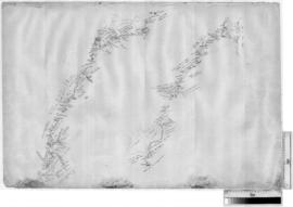 Canning Stock Route - plan of original survey by A.W. Canning near Goodwin Soak, c. 1906 [Tally N...