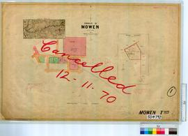 Mowen Sheet 1 [Tally No. 504792].