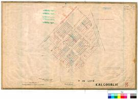 Kalgoorlie 77/72. Kalgoorlie - Lots between Killarney Street, St Albans Road, Ward Street and Cot...
