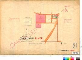 Carbunup River Sheet 1 [Tally No. 503986].
