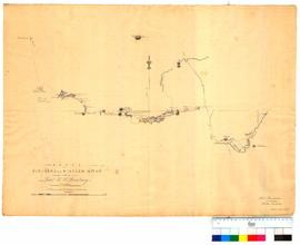 Route from Pinjarra to Williams River by Lieut H.W. Bunbury [Tally No. 005041].