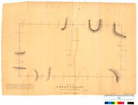 Plan of Green Valley, Plantagenent by A. Hillman [Tally No. 005303].