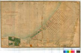 Rockingham 22. Plan of Rockingham Townsite showing land reserved for Naval Base and various Lots ...