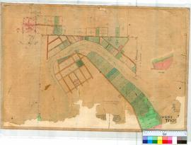 Toodyay West 11/1. Plan of West Toodyay showing Avon River, Lots facing River and vicinity [undat...