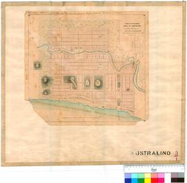Australind 5/1. Plan of the intended Town of Australind as finally arranged by M. Walter Clifton ...