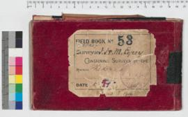 J.H.M. Lefroy Field Book No. 53