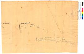 Route from north end of Leschenault Inlet to junction of Harvey River by T. Watson [Tally No. 005...