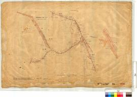 Road through ML 152 to 156, etc to join road Preston to Collie by J.H.M. Lefroy, Fieldbook 102 [s...