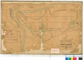 Guildford 17B. Plan of the townsite of Guildford as marked out on the ground in 1842 [scale: 4 ch...
