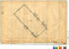 Survey of Location 2395 by J. Dreye, Fieldbooks 22, 26, vicinity of the Hutt River, Bishops Gully and Mt's Victoria and Albert [scale: 20 chains to an inch, Tally No. 005882].