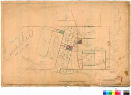 Kojonup 1. Kojonup Office working plan. W. A. Taylor, 3 March 1863 [scale: 3 chains to an inch, T...