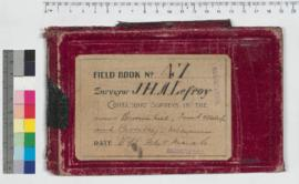 J.H.M. Lefroy Field Book No. 47