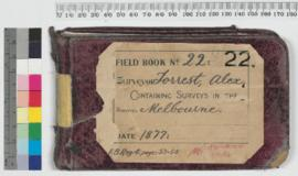 A. Forrest Field Book No 22
