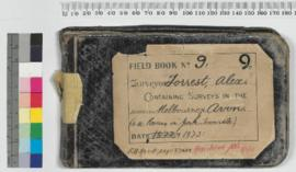 A. Forrest Field Book No 9