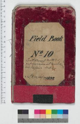 J.H.M. Lefroy Field Book No. 10