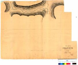 Chain survey of the Collie River by Thomas Watson, sheet 16 [Tally No. 005161].