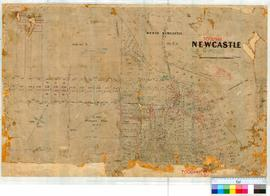 Toodyay (Newcastle) 12/1. Plan of Toodyay by W.P. Goddard, Leeming, C. Denny, H.T. Hardy [scale: ...