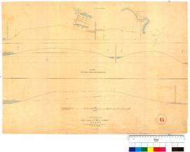 Sections through Perth waters to Lake Irwin eastwards from Lake Kingsford, west side of Hutt Street by A.C. Gregory [Tally No. 005353].