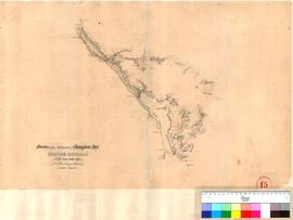 J.S. Roe - routes to the northward of Champion Bay in June 1847.