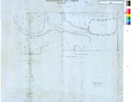 Plans of Government House grounds & part of Riverside Gardens