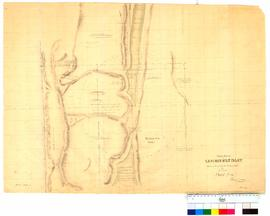 Chain survey of the Leschenault Inlet by Thomas Watson, sheet 14 [Tally No. 005173].
