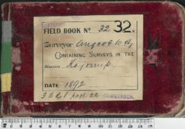 Field Book No. 32. W.H. Angove . Kojonup .FB R.1 p.22.