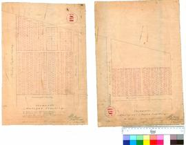 Fremantle 19O. 2 Parts. Fremantle Aboriginal & Pagan Cemetery. A. Hillman, 18 August 1852. Fr...