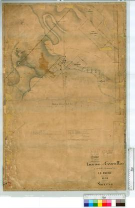 Locations on the Canning River by A.L. Preiss, later additions by Hillman 1846, A.C. Gregory, May...