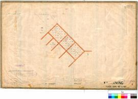 Katanning 158/4. Katanning Town Lots 437 to 457. G. R. Turner, August 1898 [scale: 4 chains to an...