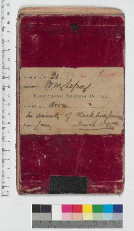 J.H.M. Lefroy Field Book No. 21