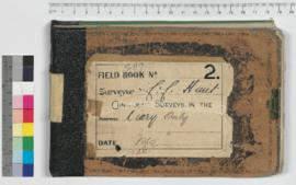 CC Hunt field book No.2