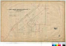 Perth 18/38. Suburban Perth - Plan showing subdivision of Public Cemetery, Karrakatta Reserve No 745, Lots 1-18 also 3535 & Reserve 4316, Sanitary Depots [scale: 4 chains to an inch, Tally No. 005458].