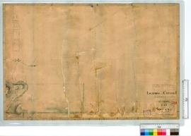Canning River Locations by A.L. Preiss, additions of Lot 33 in 1842 by J.W. Gregory [scale: 8 cha...