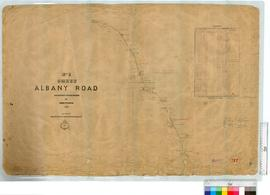 Albany Road by H. Loftie, Sheet 1 [scale: 40 chains to an inch].