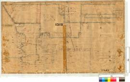 Midland Railway Company, Location 1315 Western Survey by Crossland & Co., later additions to ...