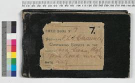 P.L.S. Chauncy Field Book No. 7