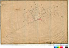Moorumbine 37. Plan showing Lots at Murrumbine Townsite by H.S. Ranford dated 1882. Road from Pen...